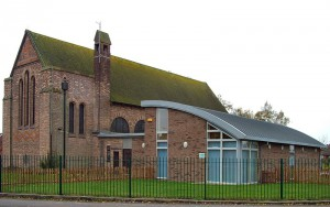 St Paulinus church with hall