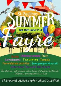 Summer Fayre with Songs of Praise